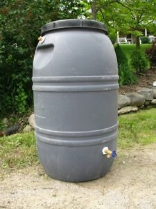 Rain Barrels Ready To Use!