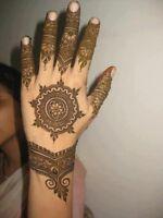 Henna $8 per hand