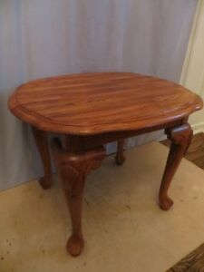 Solid Oak Wood Side Table London Ontario image 4