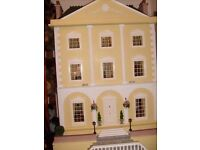 Queen Anne style doll house (1/12th scale) . NEW PRICE