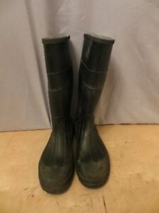 Men's rubber work boots