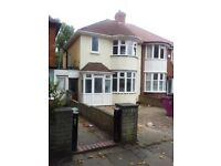 LET AGREED : THREE BEDROOMS SEMI DETACHED:2 RECEPTION ROOMS:PARKING:PRIVATE GARDEN:DOUBLE GLAZING