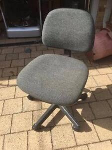 Grey Gas Lift Office Chair Beckenham Gosnells Area Preview