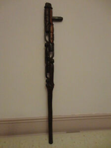 Antique Ebony Wood Cane London Ontario image 1