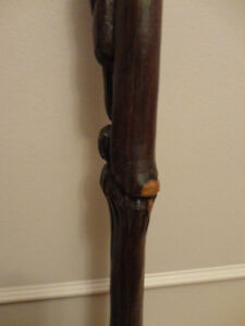 Antique Ebony Wood Cane London Ontario image 10