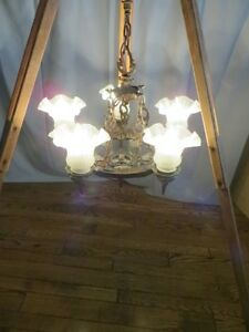Vintage Iron Chandelier London Ontario image 6