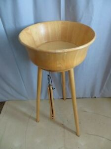 Wooden Salad Bowl with Stand London Ontario image 1