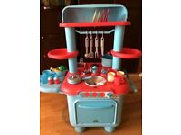 Early Learning Centre Toy Sizzling Kitchen - Blue - For Girls and Boys - Bargain!