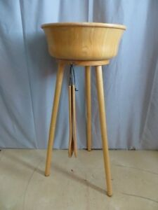 Wooden Salad Bowl with Stand London Ontario image 2
