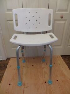 Aquasense Bathroom Chair London Ontario image 4