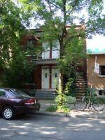 Charmant 3½, (50m2) Montréal adj. Plateau meublé/équipé