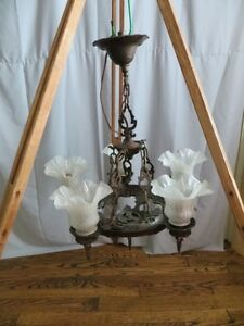 Vintage Iron Chandelier London Ontario image 1
