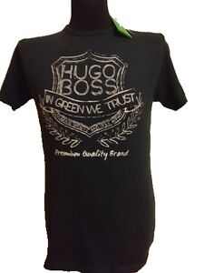 Official Mens Designer Boss T-Shirt Tops Original Red Green Label S M L XL Hugo