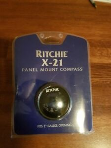 Ritchie X-21 Panel Mount Compass- Brand new