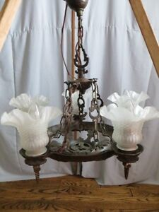 Vintage Iron Chandelier London Ontario image 3