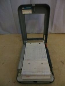 Vintage Moore Portable Receipt Invoice Machine London Ontario image 4