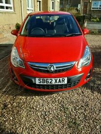 2012 Corsa, 25000 miles, £30 road tax