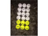18 Srixon Soft Feel Golf Ball