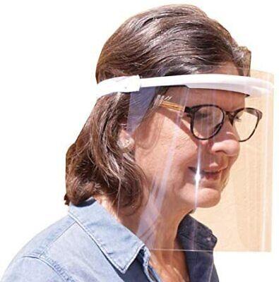 KMINA PRO Face Shield For Glasses Wearers x10 Units Face Shields Transparent Fa