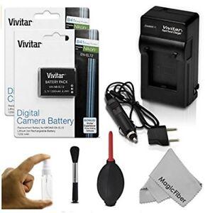 EN-EL-12 batteries et chargeur pour camera Nikon/Vivitar