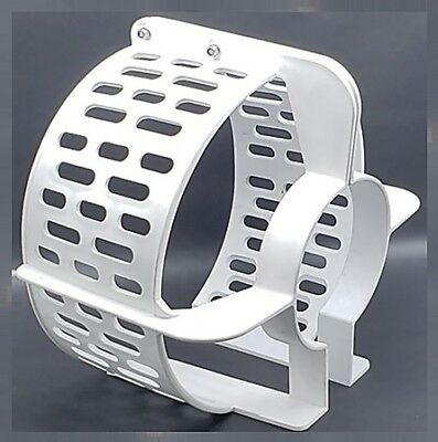 "Propeller Safety Guard 16"" White Fits 100 - 250 hp Boat Marine Surf Outboard"