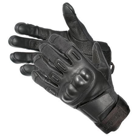 Blackhawk S.O.L.A.G. HD Gloves w/ Kevlar - Black - Medium