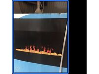 Wall hung Electric fire
