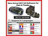 car truck 2017R3 Diagnostic software install SERVICE