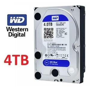 NEW WD 4TB 3.5 HARD DRIVE WD40EZRZ 246971997 WESTERN DIGITAL BLUE INTERNAL HDD 6GB/S 64MB CACHE PC COMPUTERS