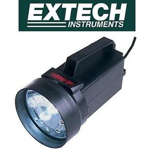 NEW EXTECH STROBOSCOPE/TACHOMETER DIGITAL - 4 DIGIT LED DISPLAY - MEASURES FLASH/SPEED RATE UP TO 10,000 FPM/RPM
