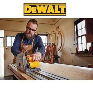 """NEW* DEWALT 6.5"""" TRACK SAW KIT DCS520T1 204722045 CORDLESS FLEXVOLT 60V POWER TOOL"""