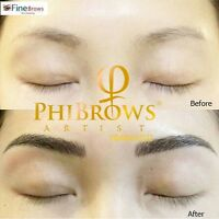 PHIBROWS MICROBLADING EYEBROWS -$300 (promo) DOWNTOWN