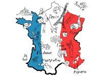 TOUR DE FRANCE STAGE 1: BORDEAUX AND BURGUNDY