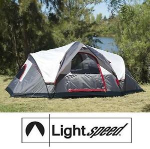USED LIGHTSPEED OUTDOORS AMPLE TENT 6-PERSON INSTANT TENT - GREY 102125942