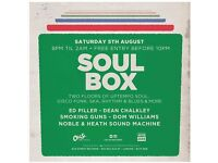 Soul Box at Old St. Records