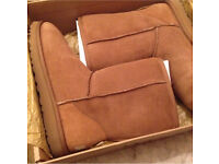 Genuine Authentic REAL UGG brown short boots