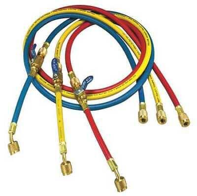 Yellow Jacket 25985 Manifold Hose Set60 Inredyellowblue