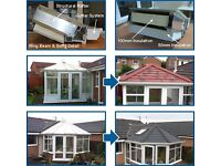 Tiled lightweight conservatory roofs from £2750