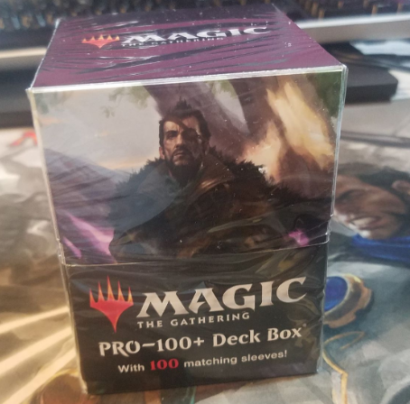 commander deck box and matching sleeves magic