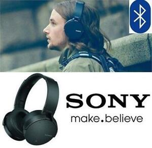 OB SONY OVER EAR HEADPHONES MDR-XB950N1 243082577 BLUETOOTH WIRELESS Noise Cancelling Wireless with Mic OPEN BOX