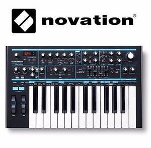 NEW NOVATION BASS STATION SYNTH   ANALOG MONO-SYNTHESIZER - KEYBOARD PIANO AUDIO MUSIC 99686033