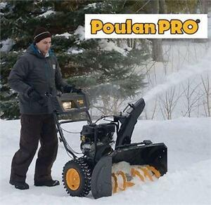 "NEW POULAN PRO 27"" SNOW THROWER GAS POWERED SNOW BLOWER SNOWBLOWER  79652887"