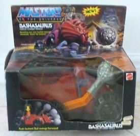 VINTAGE MASTERS OF THE UNIVERSE BASHASAURUS