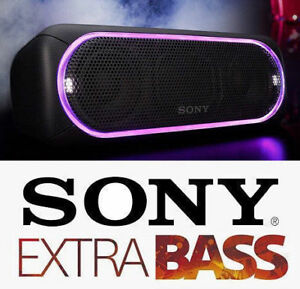 BRAND NEW Sony EXTRA BASS Water-Resistant Bluetooth Speaker