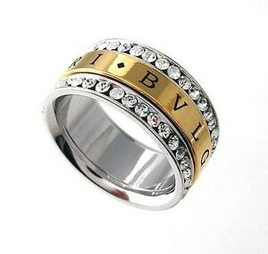 Fashion elegance design 18K White Gold Plated Crystal Ring size(6-9)