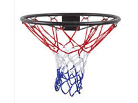 Basketball hoop - wall attachable