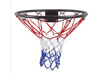 Basketball hoop - wall attachable