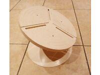 "Cake Tilt /Turn 10"" Metal Table"