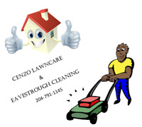 Cenzo lawn care and Eavestrough cleaning!!