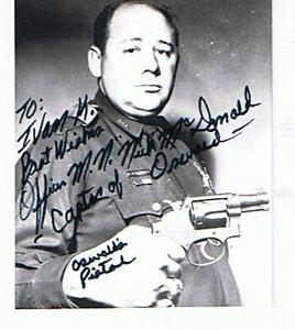 Photo& 2 letters from PO Mcdonald who captured Oswald London Ontario image 1